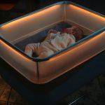 Jedna z vychytávok postielky - LED osvetlenie
