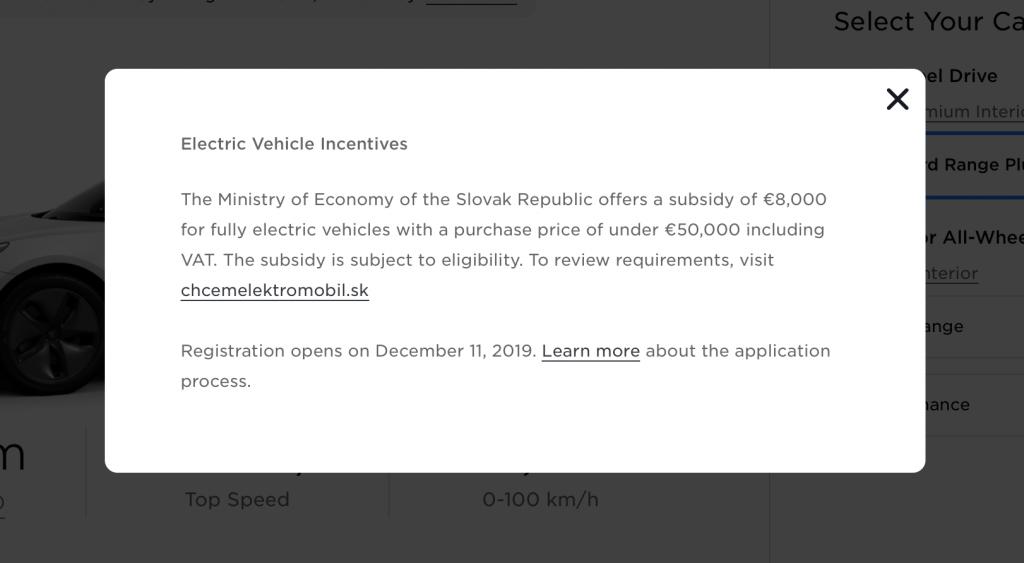 detail textu podpora elektromobility tesla3